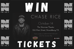 Chase Rice at The Sherman Theater