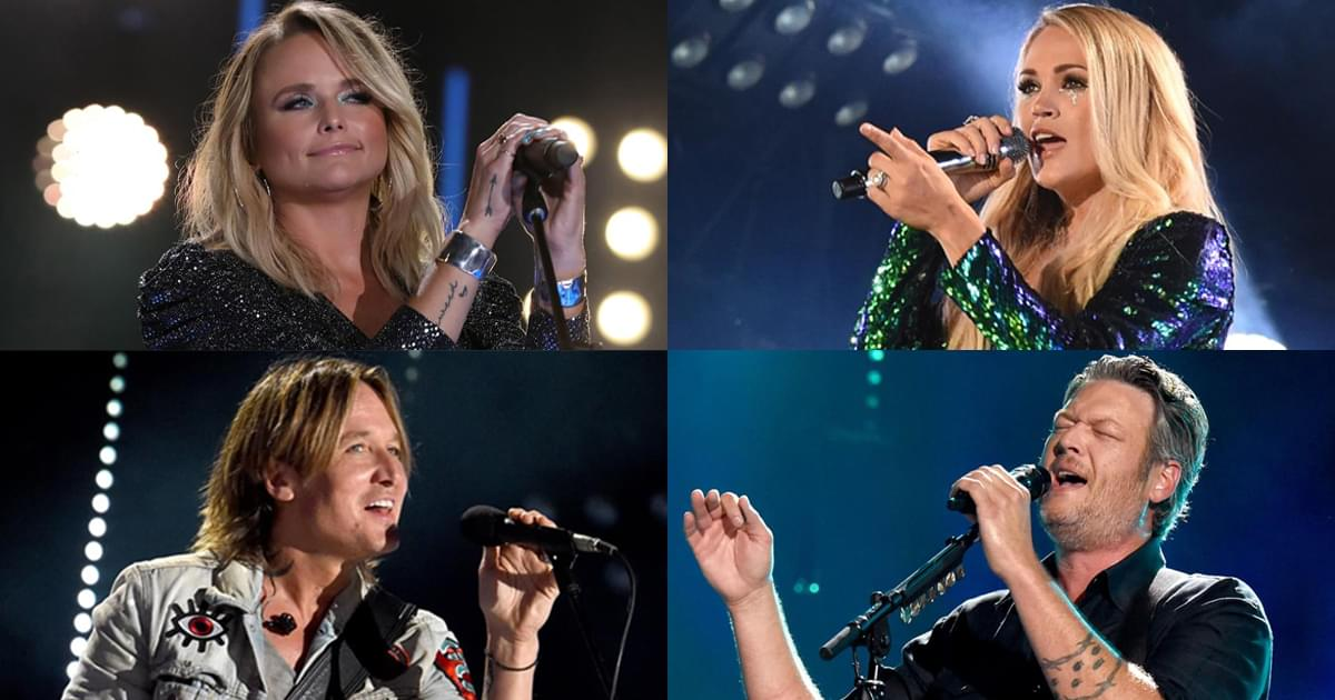 Set List! Check Out the Lineup of Performers & Songs at the ACM Awards