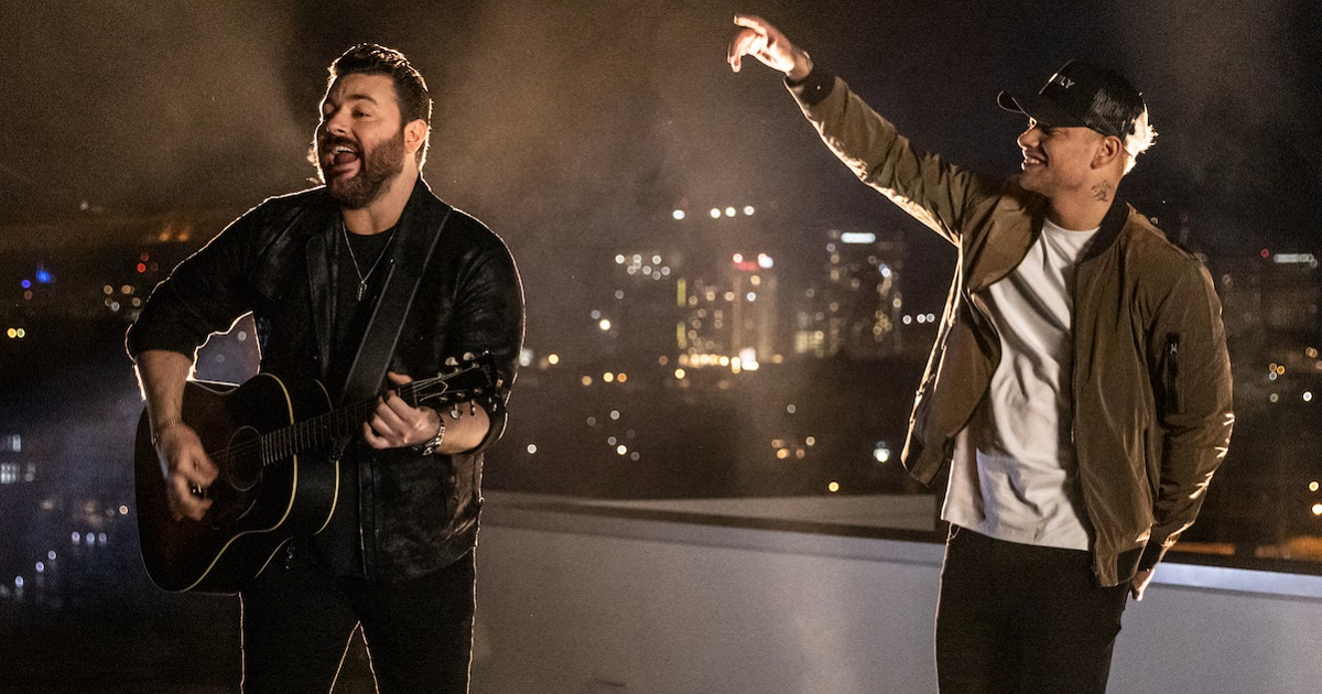 Chris Young & Kane Brown Perform for Some Famous Grads