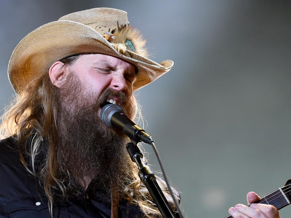 Chris Stapleton Wins Inaugural ACM Artist-Songwriter of the Decade Award