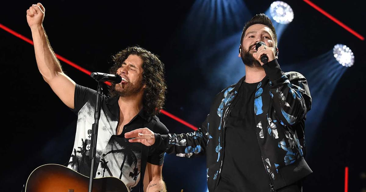 "Dan + Shay to Release New Single, ""I Should Probably Go to Bed,"" on July 31"