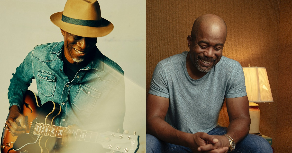 """Darius Rucker Helps Keb' Mo' With his """"Good Strong Woman"""""""