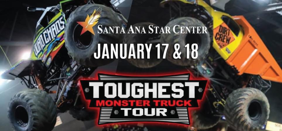 Win Toughest Monster Truck Tour Tickets
