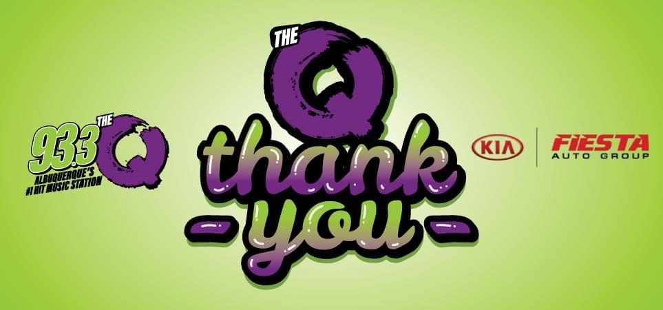 """Qmunity: """"THE Q – THANK YOU"""""""