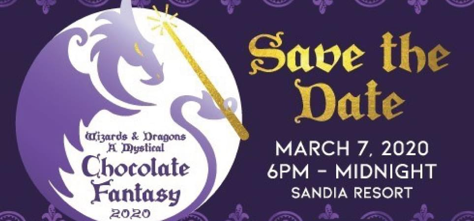 Wizards & Dragons: A Mystical Chocolate Fantasy