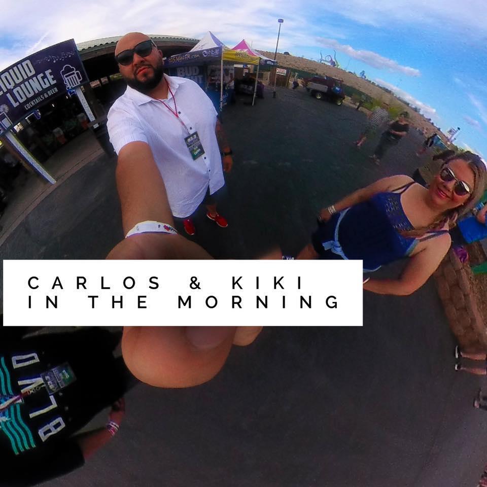 Carlos and Kiki in the morning