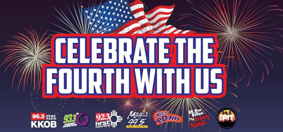 CELEBRATE THE FOURTH WITH US