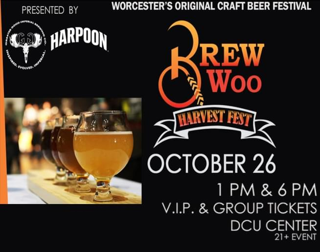 Cruisin' Bruce chats with Veronica from the DCU Center about Brew Woo Harvest Fest
