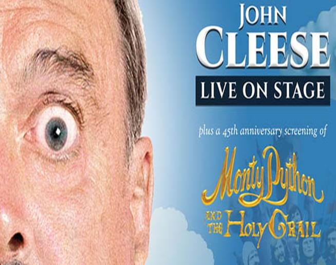 Cruisin' Bruce chats with Monty Python Legend, John Cleese!