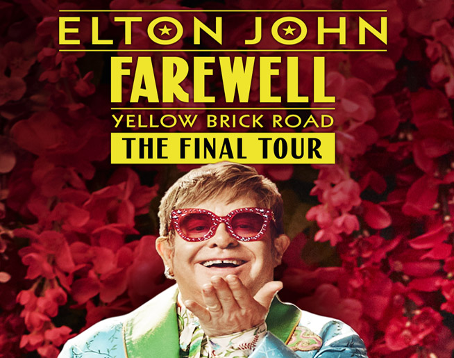 See Elton LIVE at Foxboro! Win your way in!