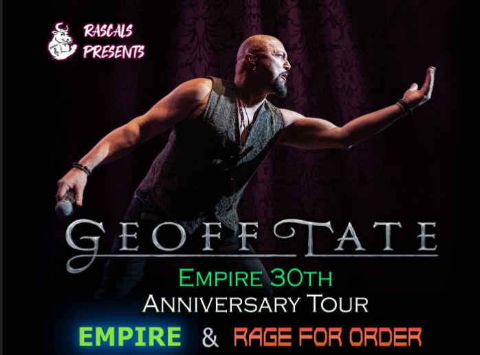 Mike Hsu Talks To Former Queensryche Singer Geoff Tate About The 30th Anniversary Of The Release Of Empire
