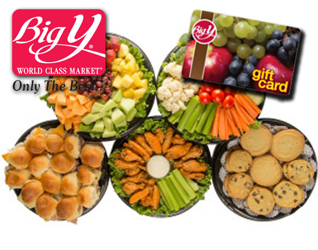 Win a $50 Big Y gift card for your Big Game feast