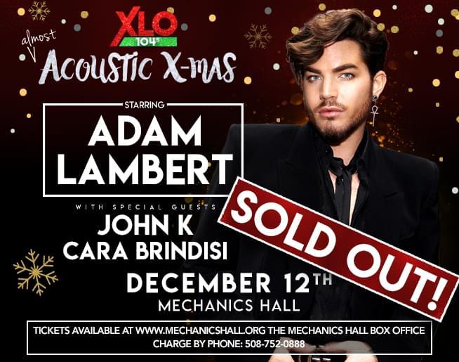 Jen & Frank chat with 2019 Acoustic X-Mas headliner, Adam Lambert!