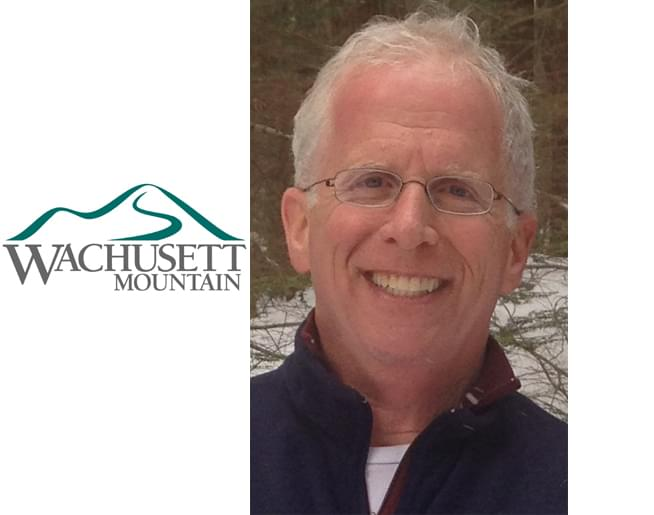 Frank chats with Tom Myers, from Wachusett Mountain
