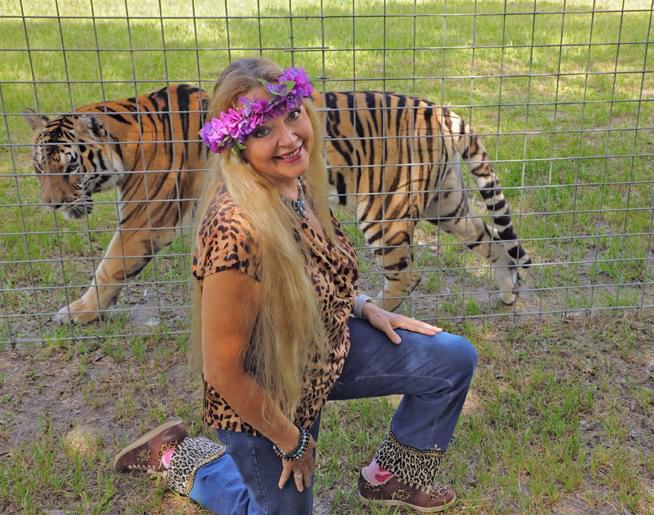 Jen & Frank chat with Tiger King's Carol Baskin