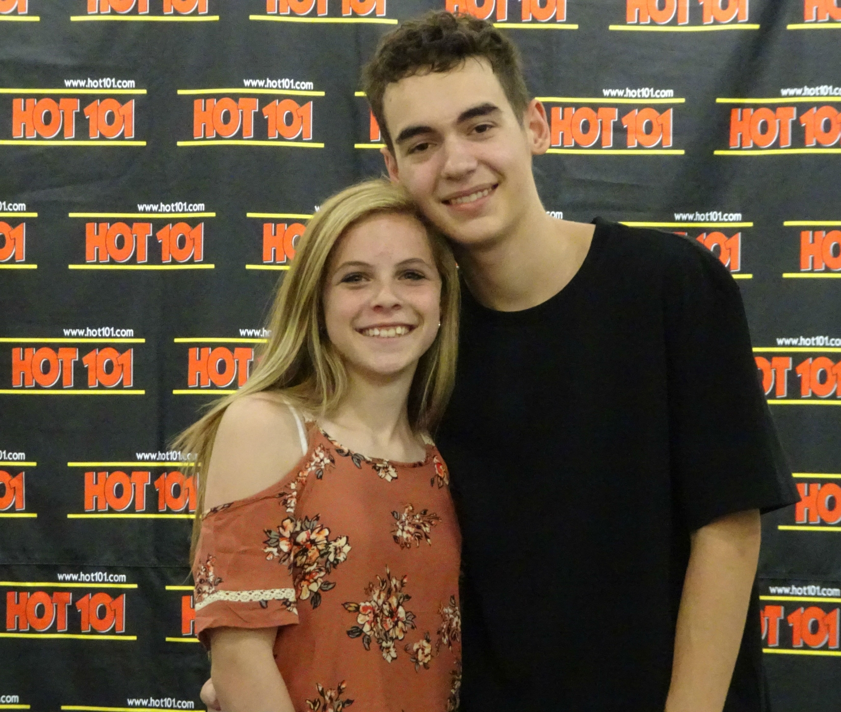 HOT 101 Artist Encounter with Alex Angelo.