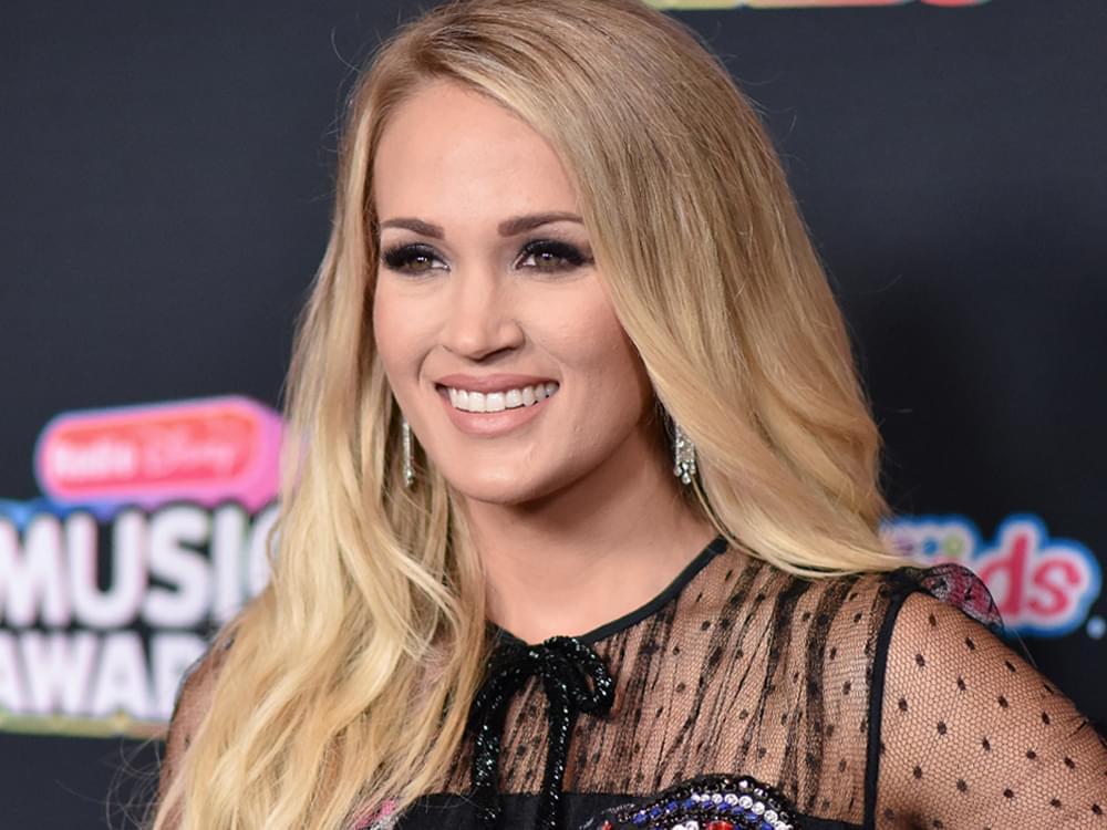 "Listen to Carrie Underwood's Slow-Jammin' New Single, ""Drinking Alone"""