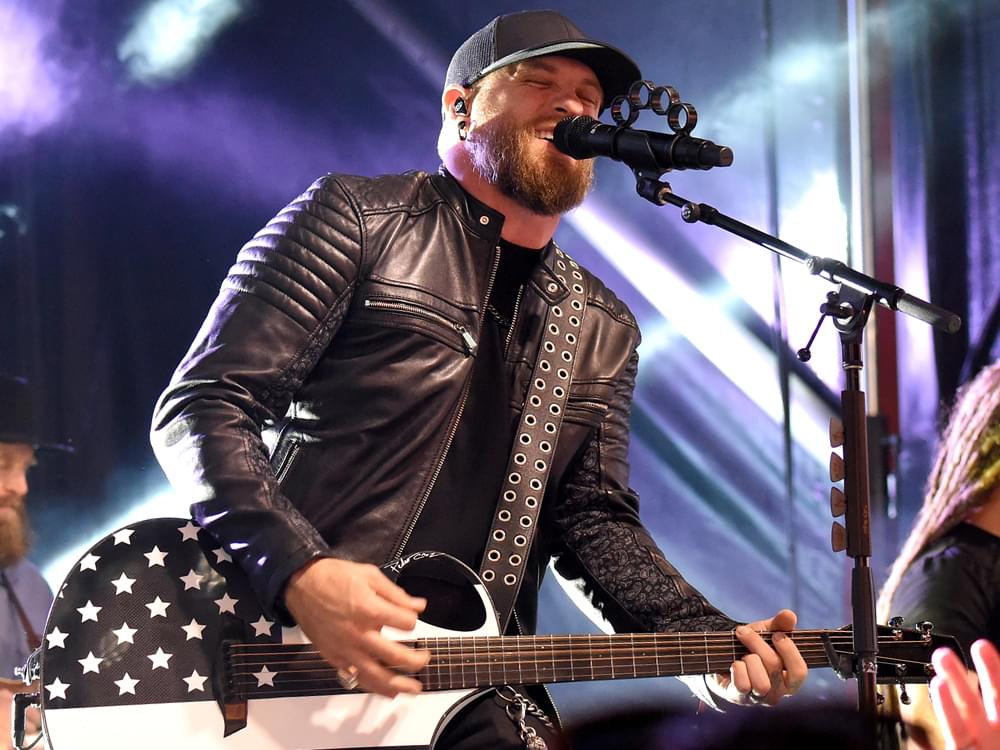 "Brantley Gilbert Drops Driving New Single, ""Fire't Up"" [Listen]"