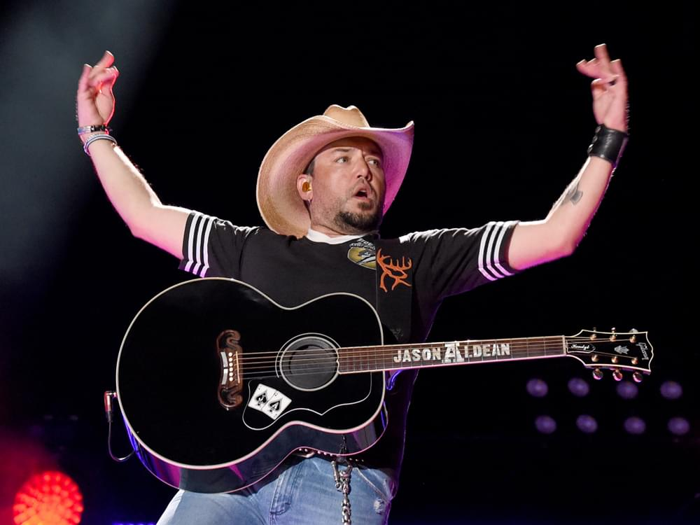 """Jason Aldean Extends """"We Back Tour"""" With Brett Young, Mitchell Tenpenny & More"""