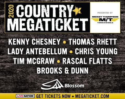 Country Mega Ticket