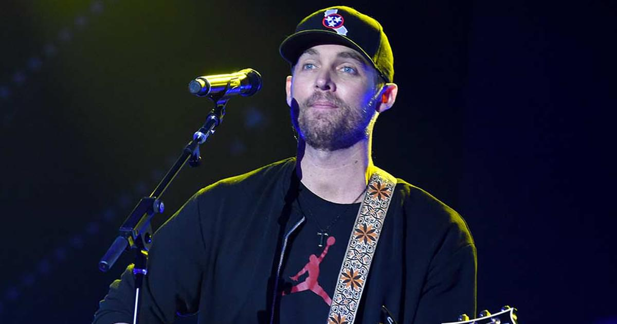 """Watch Brett Young's #PlayAtHome Performance of """"Lady"""" on """"The Late Show"""""""