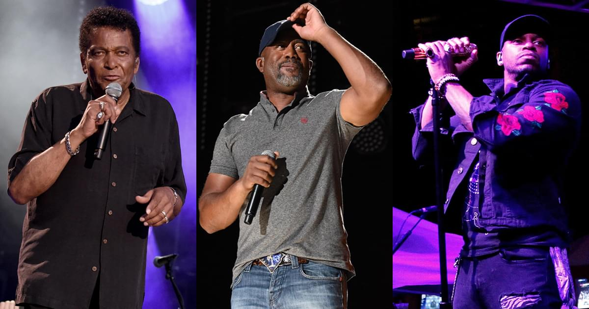 """Charley Pride, Darius Rucker & Jimmie Allen: 3 Generations of Black Country Artists Record New Song, """"Why Things Happen"""" [Listen]"""