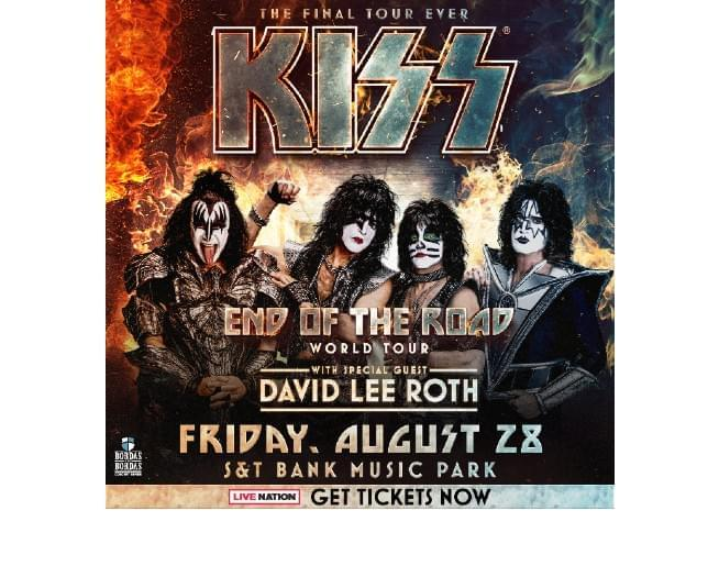 Kiss August 28th 2020 @ S&T Bank Music Park