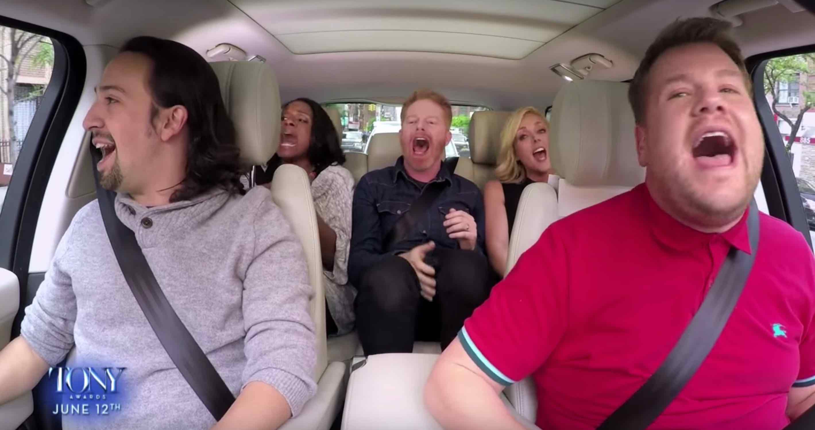 ABQ's Jesse Tyler Ferguson on Carpool Karaoke!