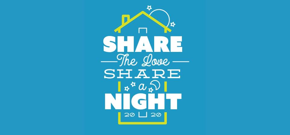 Share The Love, Share A Night!