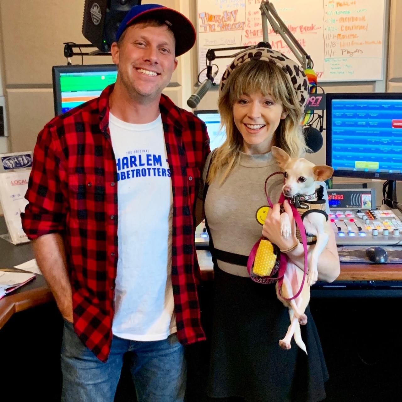 Lindsey Stirling on The Adam Bomb Show