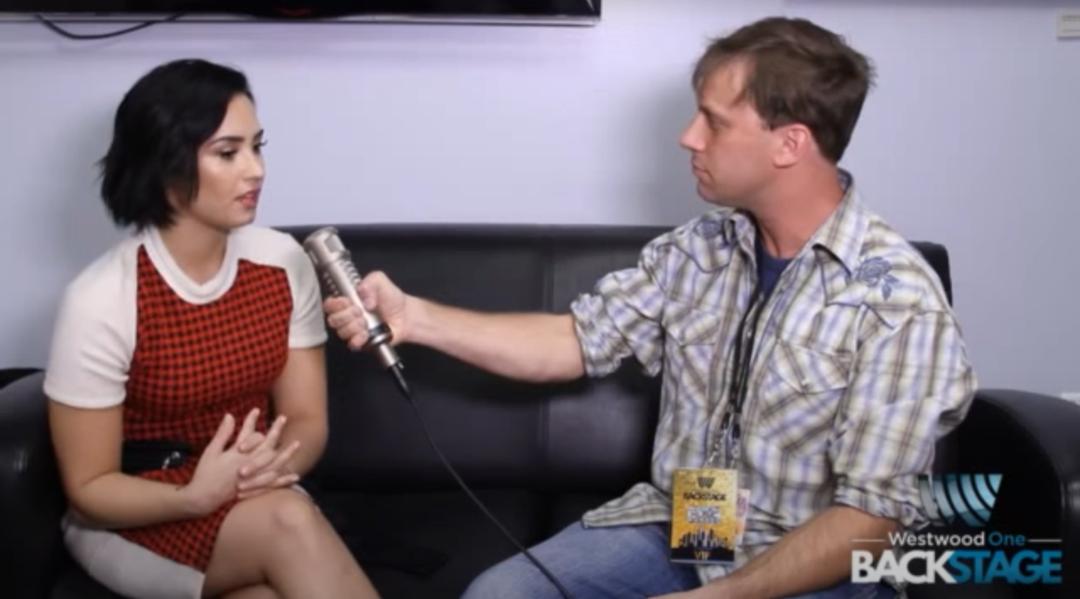 Fallback Friday: Demi Lovato on The Adam Bomb Show