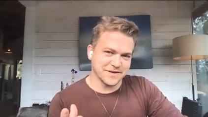 Hunter Hayes Zoom Screenshot 3-15-21