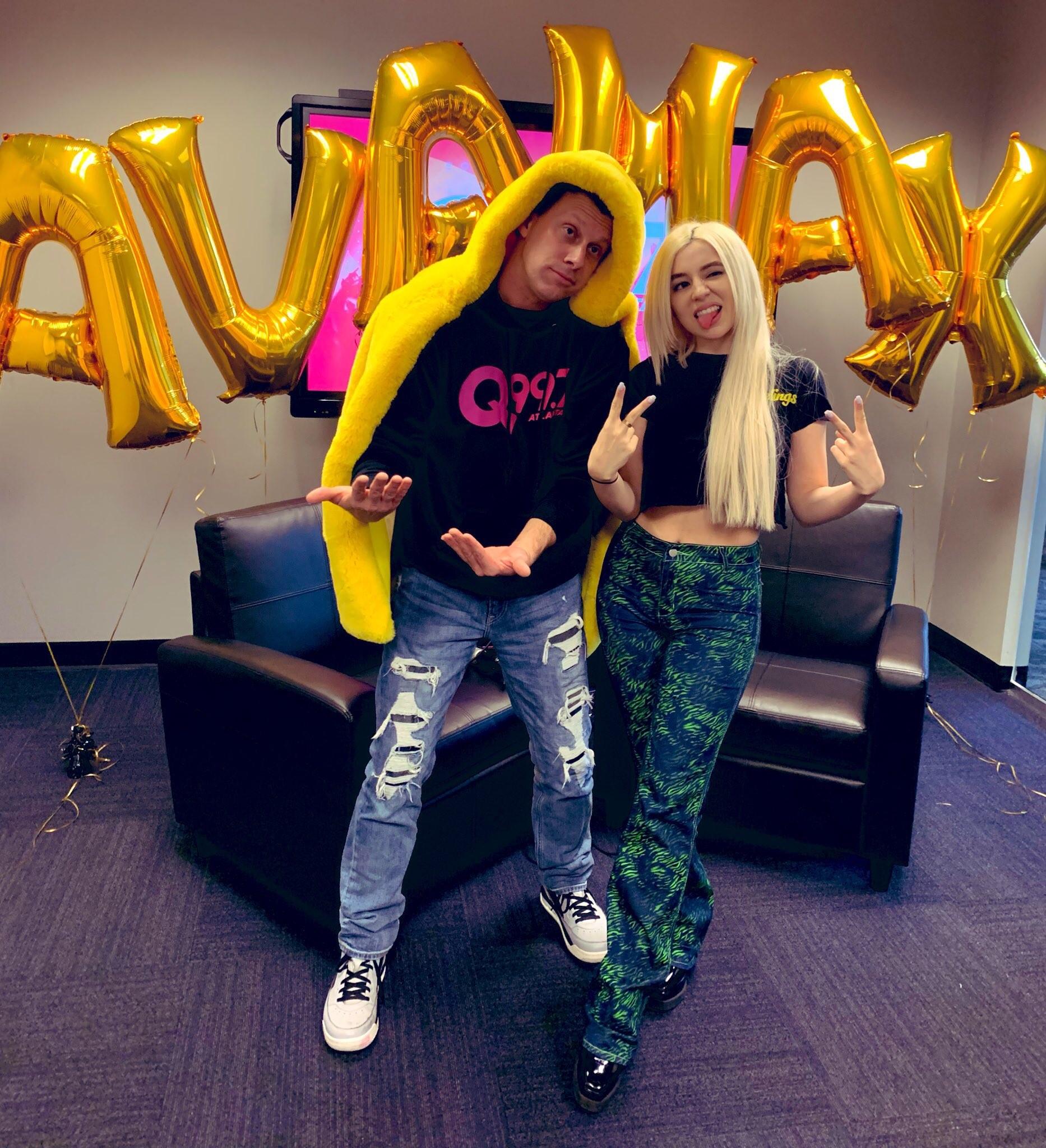 Ava Max on The Adam Bomb Show