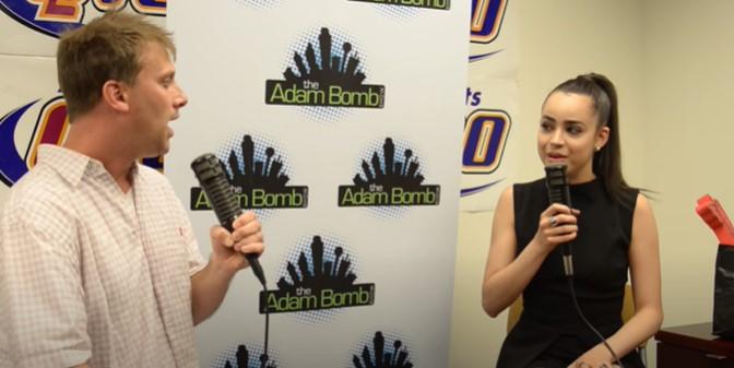 Way Back Wednesday: Sofia Carson on The Adam Bomb Show