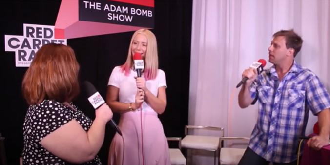 Way Back Wednesday: Iggy Azalea on The Adam Bomb Show