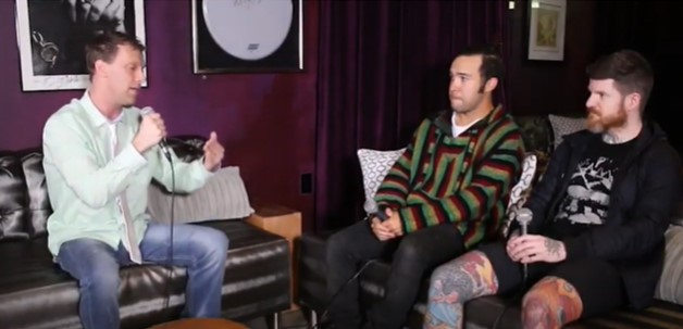 Way Back Wednesday: Fall Out Boy on The Adam Bomb Show