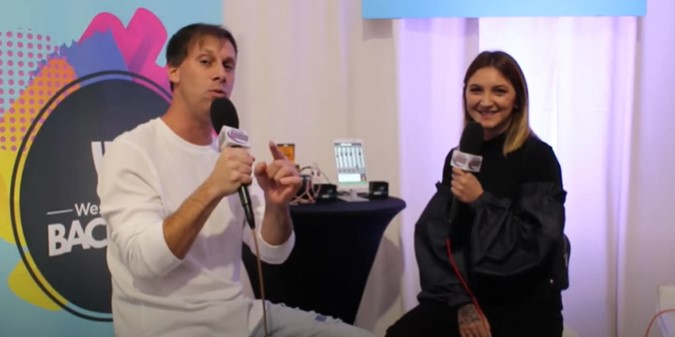 Throwback Thursday: Julia Michaels on The Adam Bomb Show
