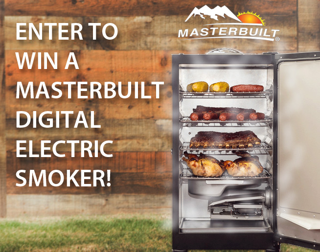 Masterbuilt Digital Electric Smoker Giveaway