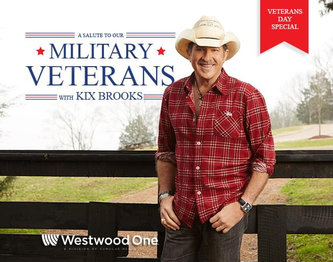 Kix Brooks and Westwood One Honor Veterans With a Two-Hour Holiday Music Special
