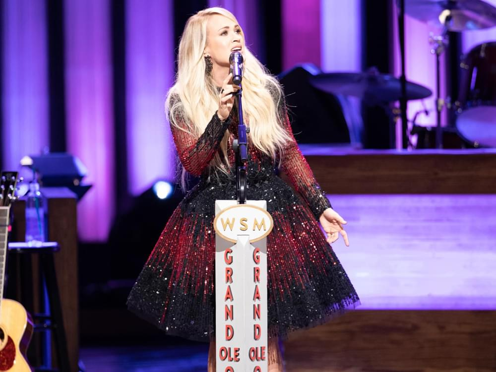 Grand Ole Opry to Kick Off CMA Fest Week With Performances by Carrie Underwood, Travis Tritt, Chris Janson & More