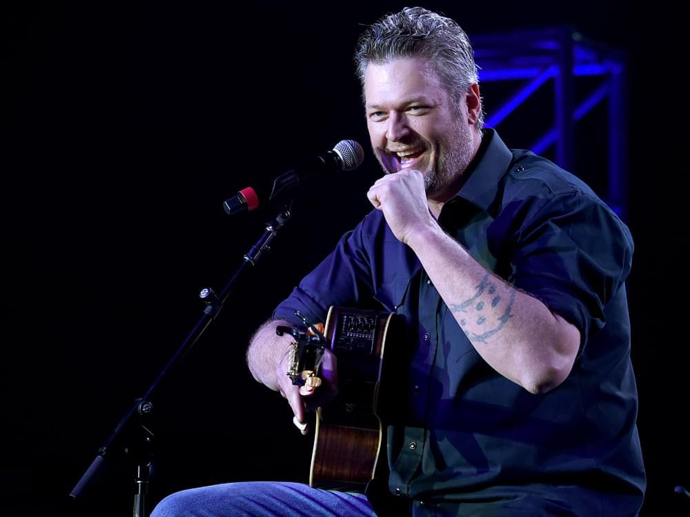Blake Shelton to Headline Musicians On Call's 20th Anniversary Celebration