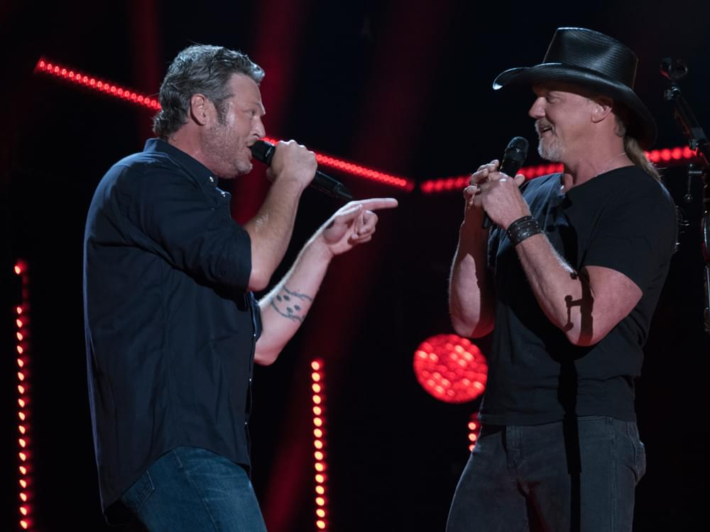 """Blake Shelton Announces New Single, """"Hell Right,"""" Featuring Trace Adkins"""