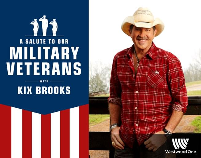 Kix Brooks Honors Veterans in a Holiday Music Special