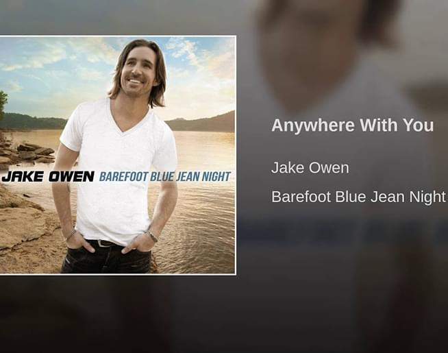 """The Song Remembers When: Jake Owen – """"Anywhere With You"""""""