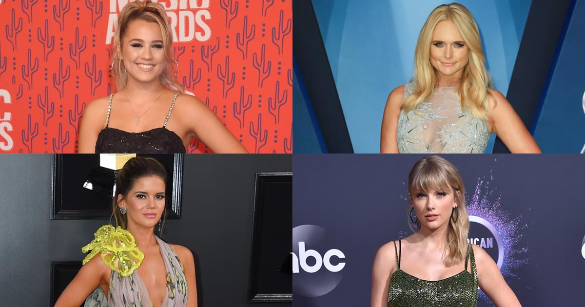 Female Artists Are Currently Ruling the Top 10 on the Billboard Hot Country Songs Chart