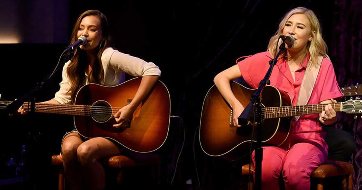 "Maddie & Tae to Release New 6-Song Holiday EP, ""We Need Christmas,"" on Oct. 23"