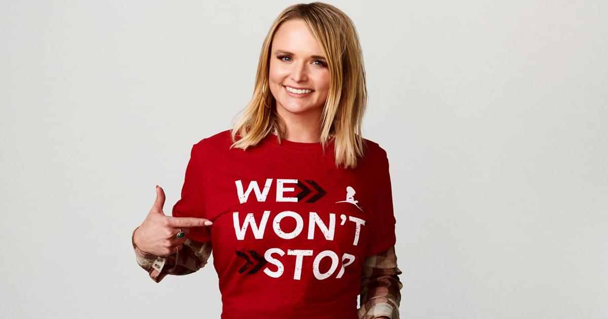"St. Jude's New ""We Won't Stop"" Campaign Features Miranda Lambert, Reba, Darius Rucker, Tim McGraw & More"