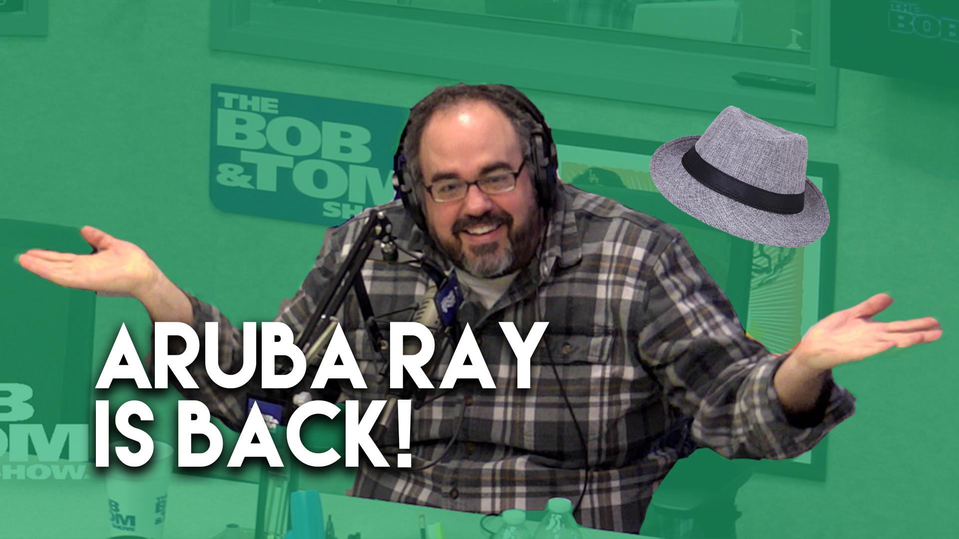 Aruba Ray Is Back!
