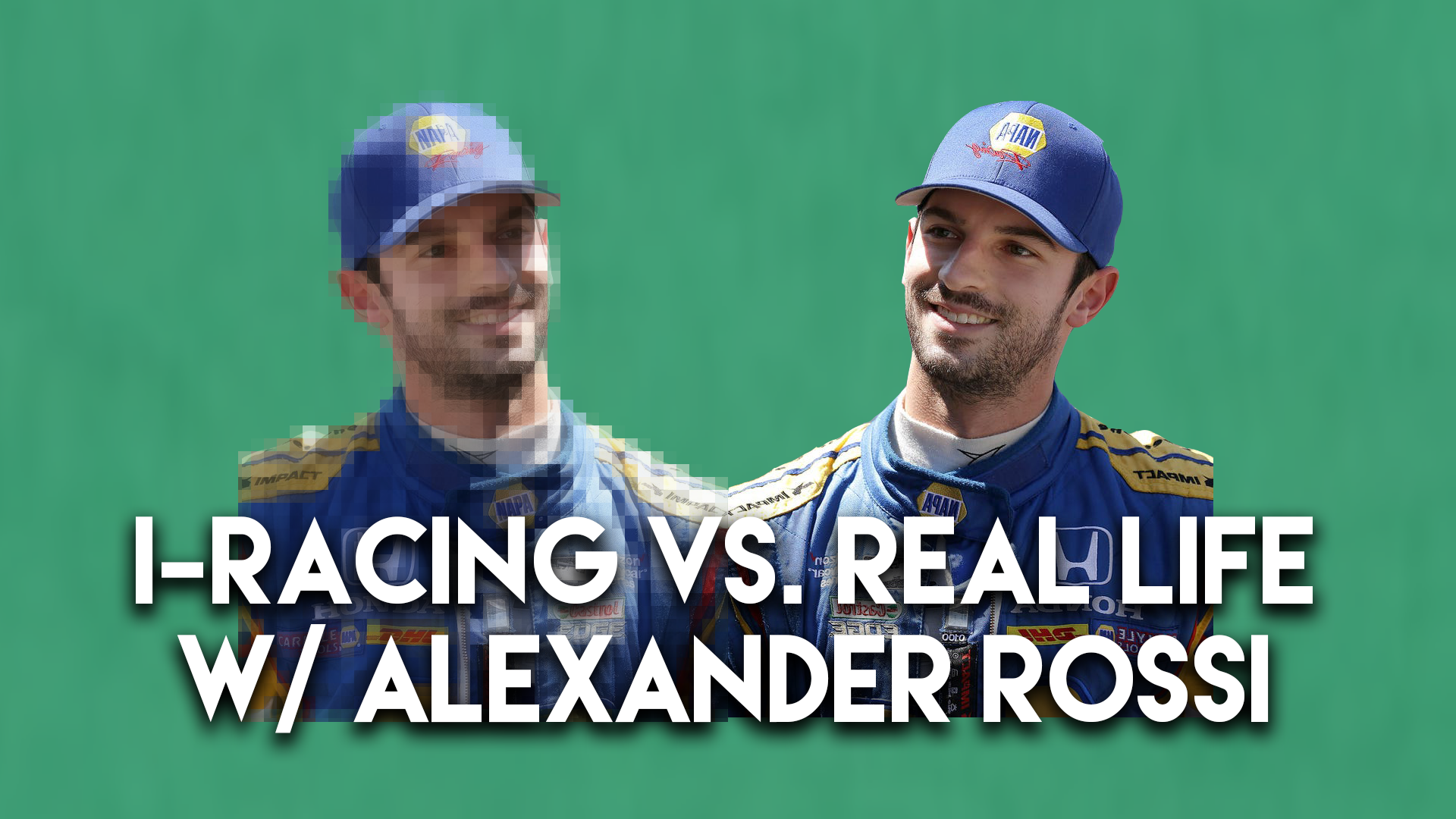 Indy 500 Winner Alexander Rossi on iRacing vs. Real Life