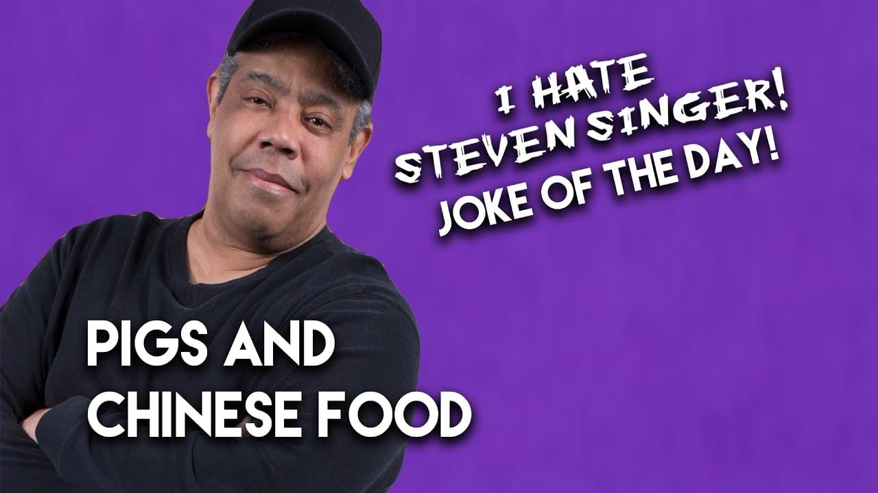 Pigs and Chinese Food | The Ace Cosby Joke of the Day Presented by Steven Singer Jewelers